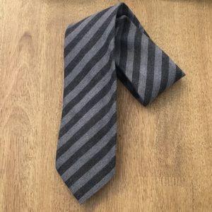 NEW Banana Republic Men's Wool Silk Stripe Tie